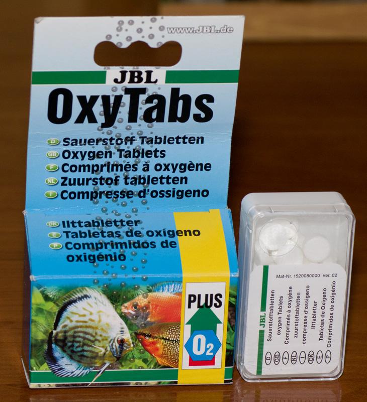 Кислородные таблетки